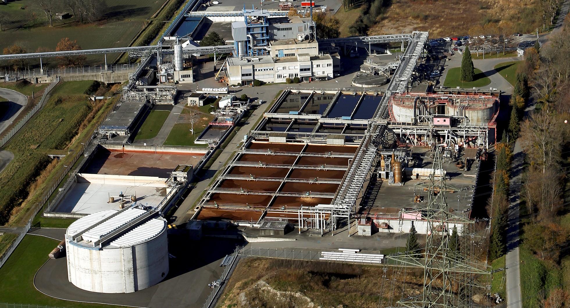 Station d'épuration des usines chimiques